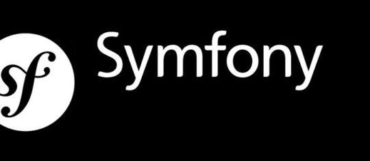 Framework backend symfony